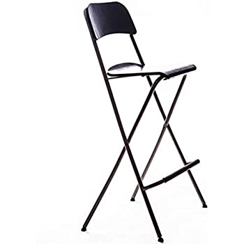 Amazon Com Bar Stool Folding Chair High Stool Folding
