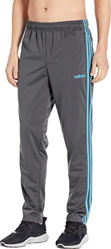 (adidas Men's Essentials 3-Stripes Tricot Track Pants Grey Six Medium R)