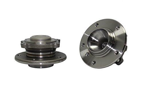 Bmw Front Wheel Bearing - Brand New (Both) Front Wheel Hub and Bearing Assembly for 2008-12 BMW 5 Bolt (Pair) 513254 x 2