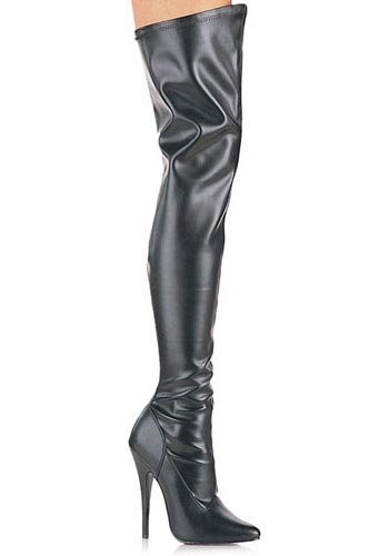 Pleaser Women's 'Domina-3000' Thigh-high Stiletto Boots