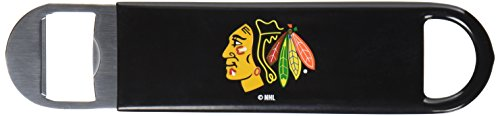 NHL Chicago Blackhawks Vinyl Covered Long Neck Bottle ()