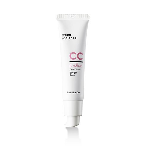 BANILA CO IT Radiant CC Cream with SPF 30 PA++, mineral rick, All Skin Types and Tones from BANILA CO