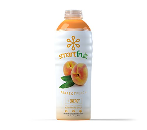 (Smartfruit Perfect Peach, 100% Real Fruit Smoothie Mix, No Added Sugar, Non-GMO, No Additives, Vegan, Family Pack 48 Fl. Oz (Pack of 1))