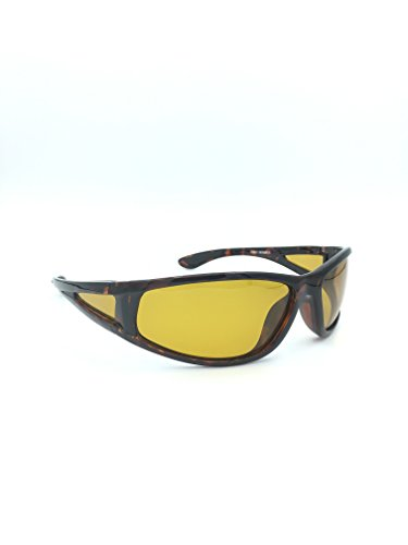 Night Driving Yellow Lens Polarized Sport Sunglasses for men or women 100% UVA/UVB - Sunglasses Glass Lens Polarized