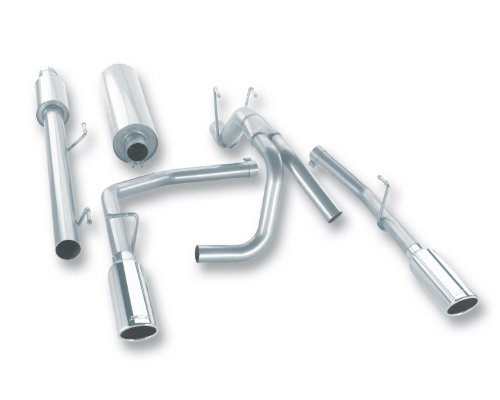 Borla 140187 Stainless Steel Cat-Back Exhaust ()