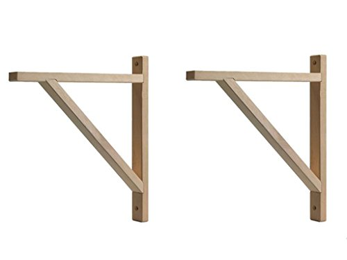 IKEA - EKBY VALTER Wood Selves Bracket, Depth 11