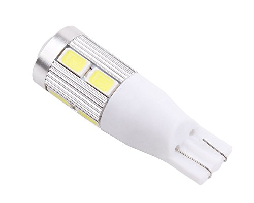 S&D Promotion!!! T10 SAMSUNG 5630 chip Emitter High Power 10 LED Projector Turn Tail Signal DRL Light Bulbs Xenon White T15 168 921 t10 w5w