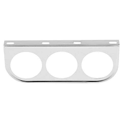 - Gauge Bracket Holder, 52mm 2 Inch Universal Meter Gauge Pillar Mount Pod Holder (Silver)