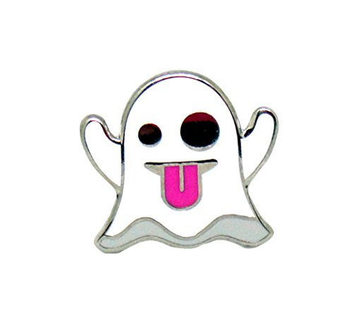 PinMaze Collections Emoji Ghoul Halloween Theme Enamel Pin Set -