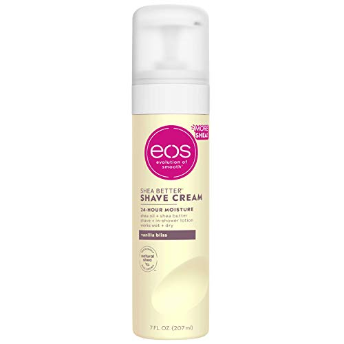 eos Shea Better Shaving Cream for Women - Vanilla Bliss | Shave Cream, Skin Care and Lotion with Shea Butter and Aloe | 24 Hour Hydration | 7 fl oz 2