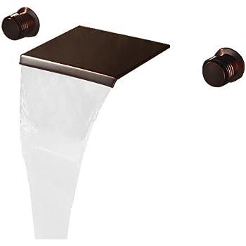 Rozin Multifunction Waterfall Shelf Spout Bathtub Faucet