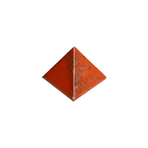 Pyramide jaspe rouge 30 mm - la pièce