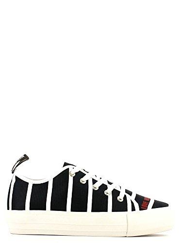 Love Moschino JA15034G11II075A Sneakers Damen Stoff Blau Blau