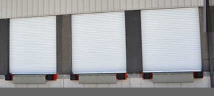 14x14 Commercial 2500 Series Roll Up Door by DBCI w/Hardware & Chain Hoist