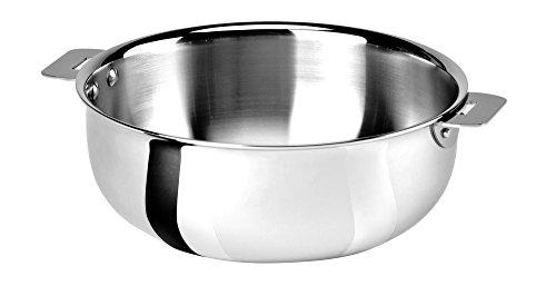 Cristel Casteline SR22QMP Saucier, 3 quart, Silver by Cristel