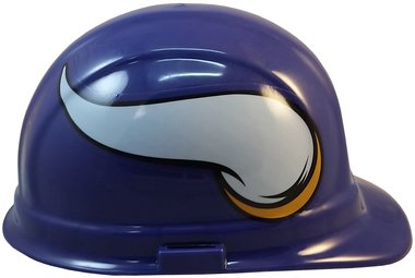 Texas American Safety Company NFL Minnesota Vikings Hard Hats with Ratchet Suspension 2