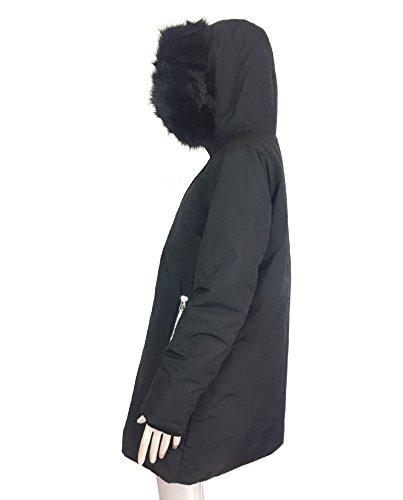 recognized brands sells fantastic savings Zara Femme imperméable Parka avec capuche 8073/246 - Black ...