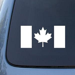 Amazoncom CANADA FLAG CANADIAN Car Truck Notebook Vinyl - Vinyl truck decals