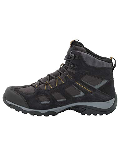 Jack Wolfskin Herren Vojo Hike 2 Texapore MID M Wasserdicht Trekking-& Wanderstiefel, Grau (Phantom 6350), 43 EU 3