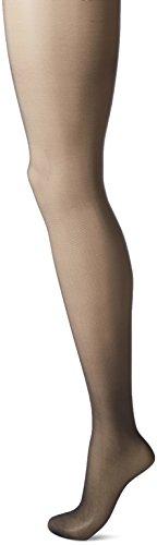 L'eggs Women's Silken No Waistband Control Top Panty Hose, Jet Black, Q (Pantyhose Top Waistband Control)