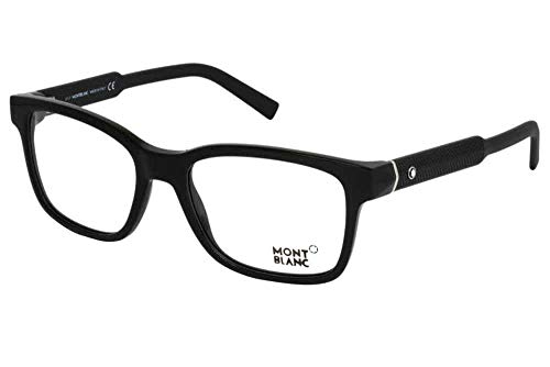 Eyeglasses Montblanc MB 0680 001 shiny - Eyeglasses Mont Mens Blanc
