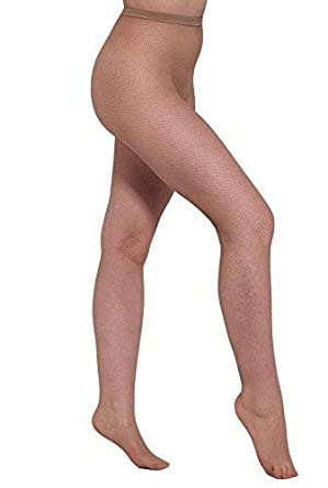 bc53d491f Essexee Legs Women s Plus Size Natural Fishnet Tights. EL618. 1 Pair. (Large