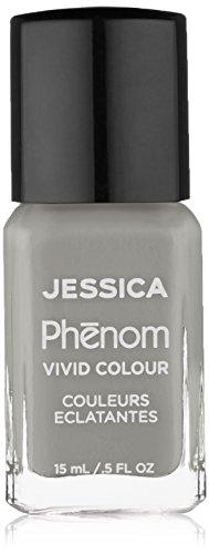 Jessica Phenom - Esmalte de uñas, color gris, Downtown Chic