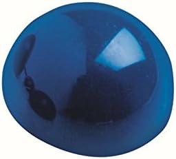 Maul - 10 x Blue Shatterproof Plastic Ball Magnets - 600g Pull - 30mm x 20mm