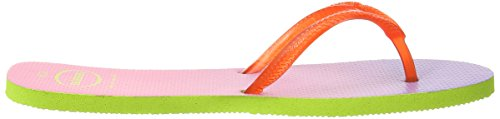 Flat Strawberry Sunset Green Lime Sandalias para Havaianas mujer dn0dxq