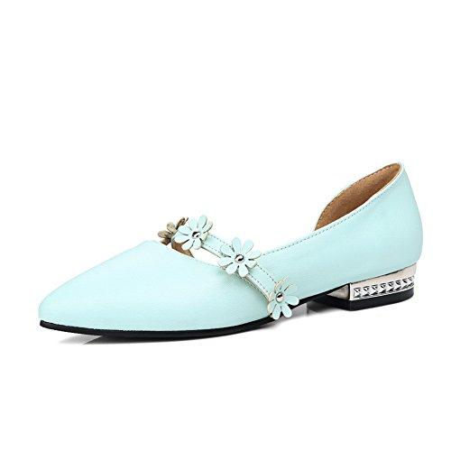 Closed Sandals ASL04440 Womens Urethane Blue Ground Toe Tooth Sandals Hounds BalaMasa Soft xAOH7