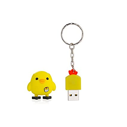 Amazon.com: MagiDeal USB2.0 Flash Pen Drive 3D Yellow ...