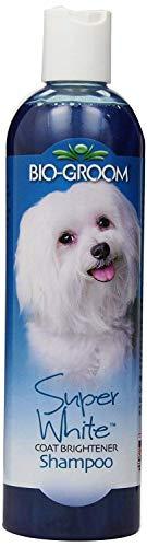 Bio-groom Super White Coat Brightener Pet Shampoo 12 oz (Pack of 2) ()
