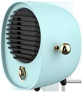 WQMMD Calentador eléctrico portátil Mini Ventilador Calentador ...