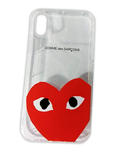big sale 2b90e 24408 Amazon.com: Comme des Garcons Play Heart Logo CDG iPhone X | iPhone ...