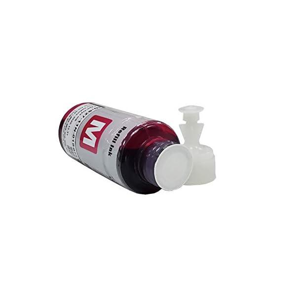 proffisy Ink Refill for Epson T664 Compatible EcoTank L1300,L310,L361,L380,L405,L565,L365,L485,L220,L360,L130 (4 color)