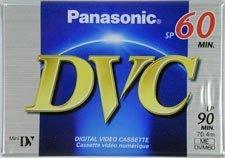 UPC 037988011582, PANASONIC DVM-40EJ Mini Digital Videocassettes