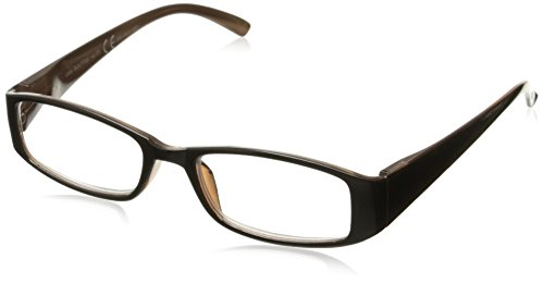 Sight Station Women's Caity 1016953-150.COM Rectangular Reading Glasses, Black/Pink, 1.5