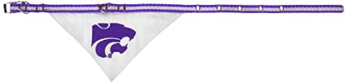 - Mirage Pet Products Kansas State Wildcats Bandana for Dogs and Cats, Small