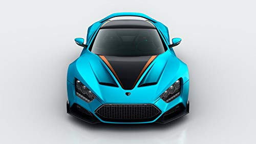 10th Anniversary Car - Zenvo ST1 GT 10th Anniversary Car Poster Print #2 (24x36 Inches)