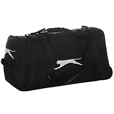 61b5aaff92 Slazenger Holdalls Sports Bag Kitbag Carryall Duffle Bag H 39 x W 70 x D 38  (cm) Wheeled - Black  Amazon.co.uk  Luggage