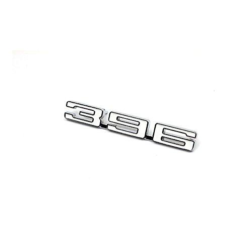 Eckler's Premier Quality Products 33-187340 Camaro Fender Emblem, 396, Left,
