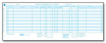 EGP Compact Input Journal Sheet