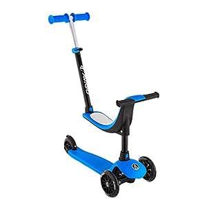 Amazon.com: Fenfen - Patinete 3 en 1 para niños, 3 ruedas ...