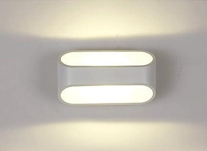 Unimall w applique blanche murale led intérieur moderne lampe