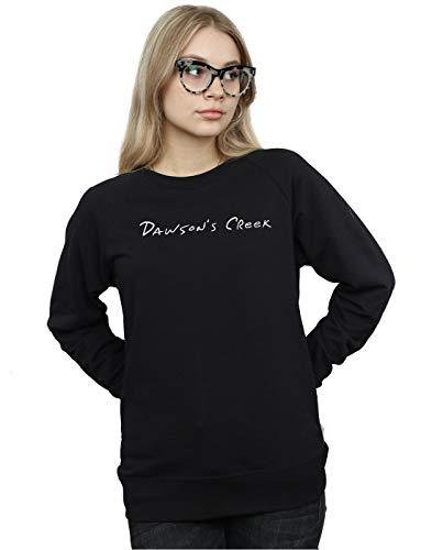 Logo Noir shirt Femme Cult Absolute Dawson's Text Sweat Creek pZxfPq