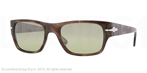 25c1116a4d91f Image Unavailable. Image not available for. Colour  Persol Men s 3021 Tortoise  Brown Frame Photocromatic Polarized Green Lens Plastic Sunglasses