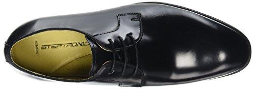 Scarpe 001 Steptronic Black Nero stringate Scarpe Steptronic uomo q0FEa