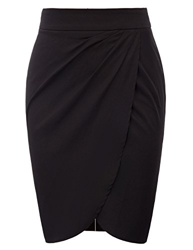 Belle Poque Plus Size High Waist Working Pencil Skirts XX-Large BP598-1 by Belle Poque