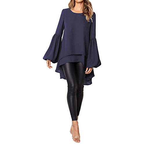 - Blouses for Womens, FORUU Ladies 2019 Winter Sale Stylish Summer Under 5 10 15 Dollars Sexy Girls Under 10 Best Gift for Her Fashion Autumn Loose Long Puff Sleeve SOID Sweatshirt Top