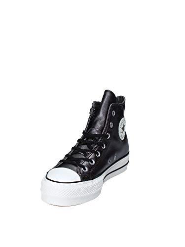 White snow 001 Lift Ginnastica Taylor Converse Scarpe Multicolore Hi Ctas Chuck Basse Da black Donna black 0Uf7w4qOc7